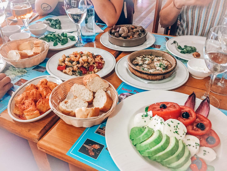 Essen und Trinken in Spanien