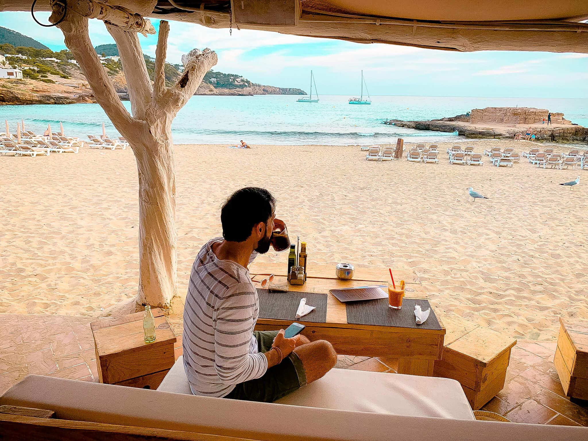 Ortsunabhängig Arbeiten auf Ibiza