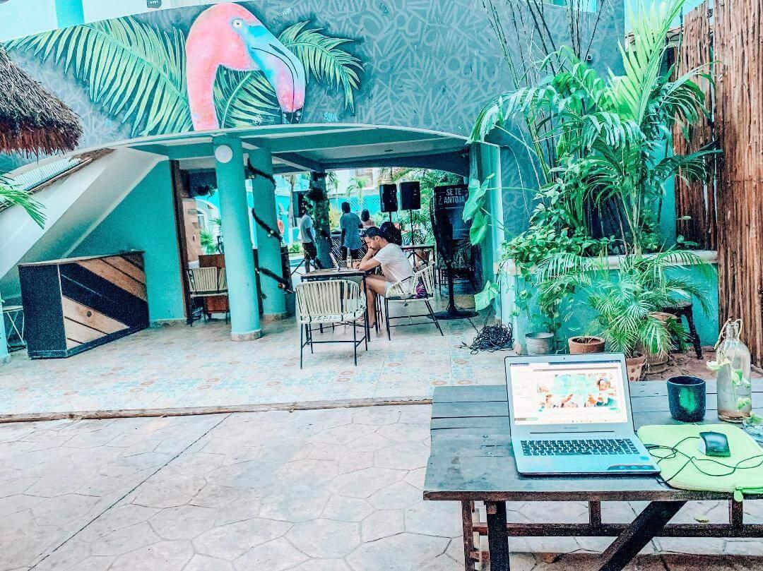 Co Working Space für digitale Nomaden