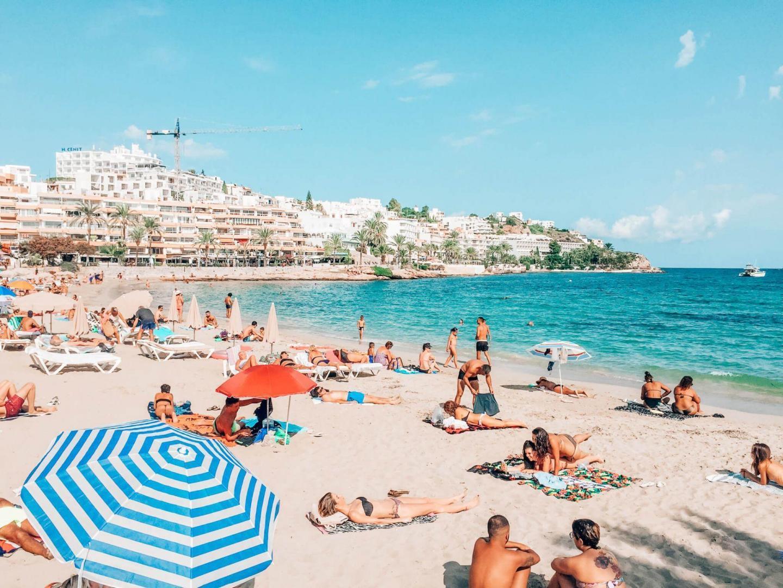 Buchten Ibizas