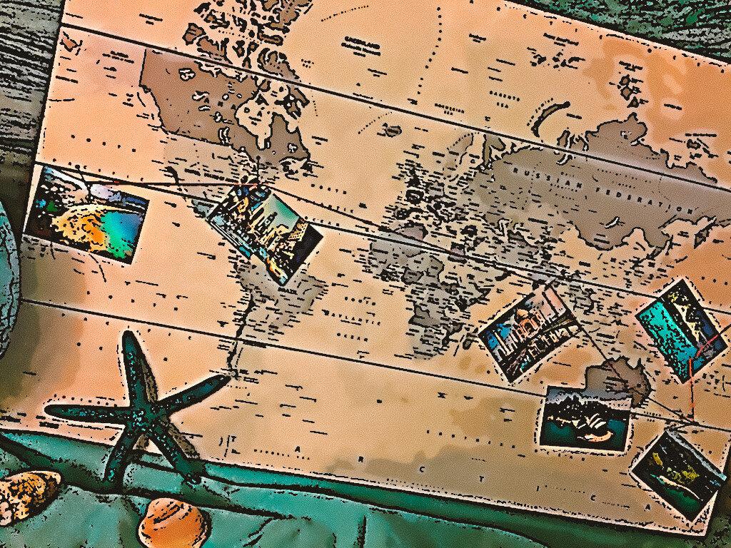 Wunsch von der Weltreise