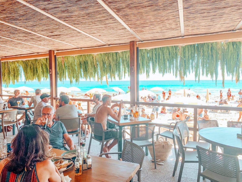Strandbars und Restaurants auf Ibiza