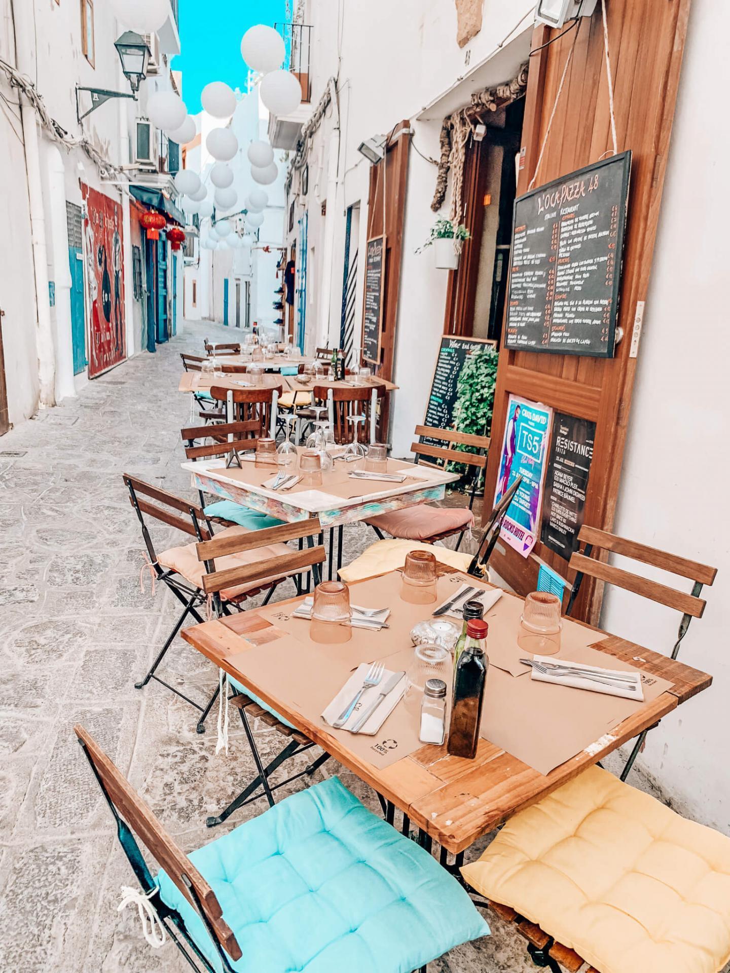 Essen und Trinken auf Ibiza