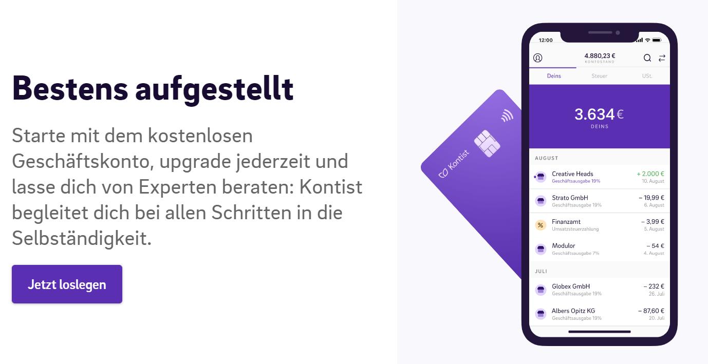Geschäftskonto und Kreditkarten für digitale Nomaden