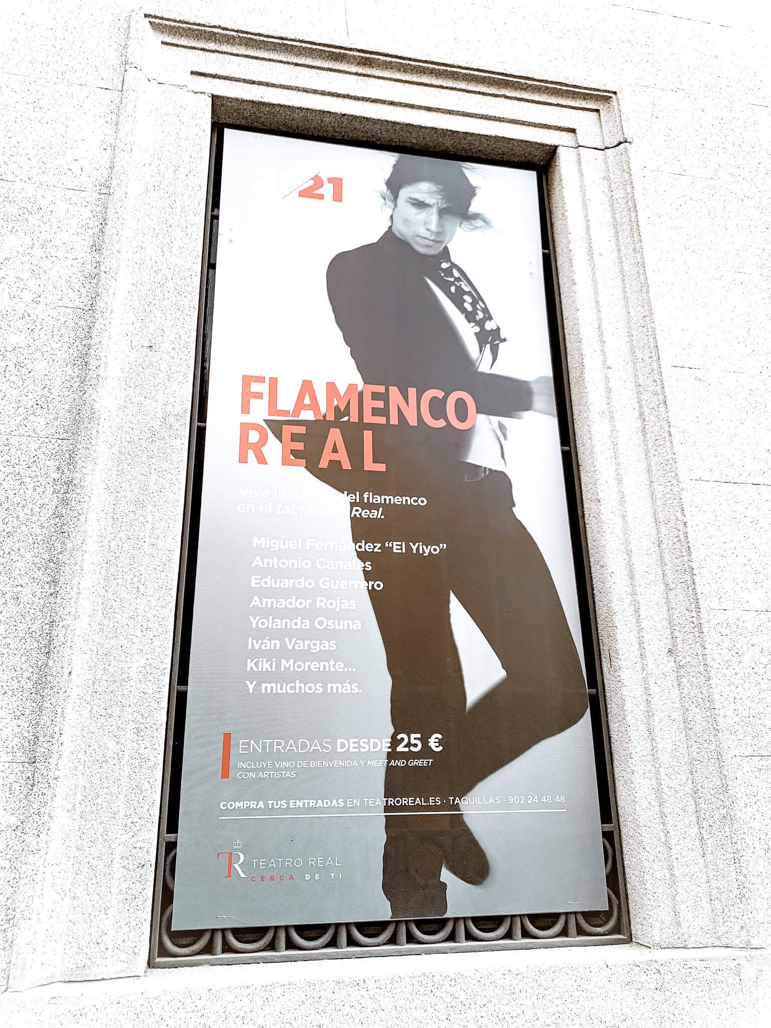 Flamenco Show Spanien Madrid